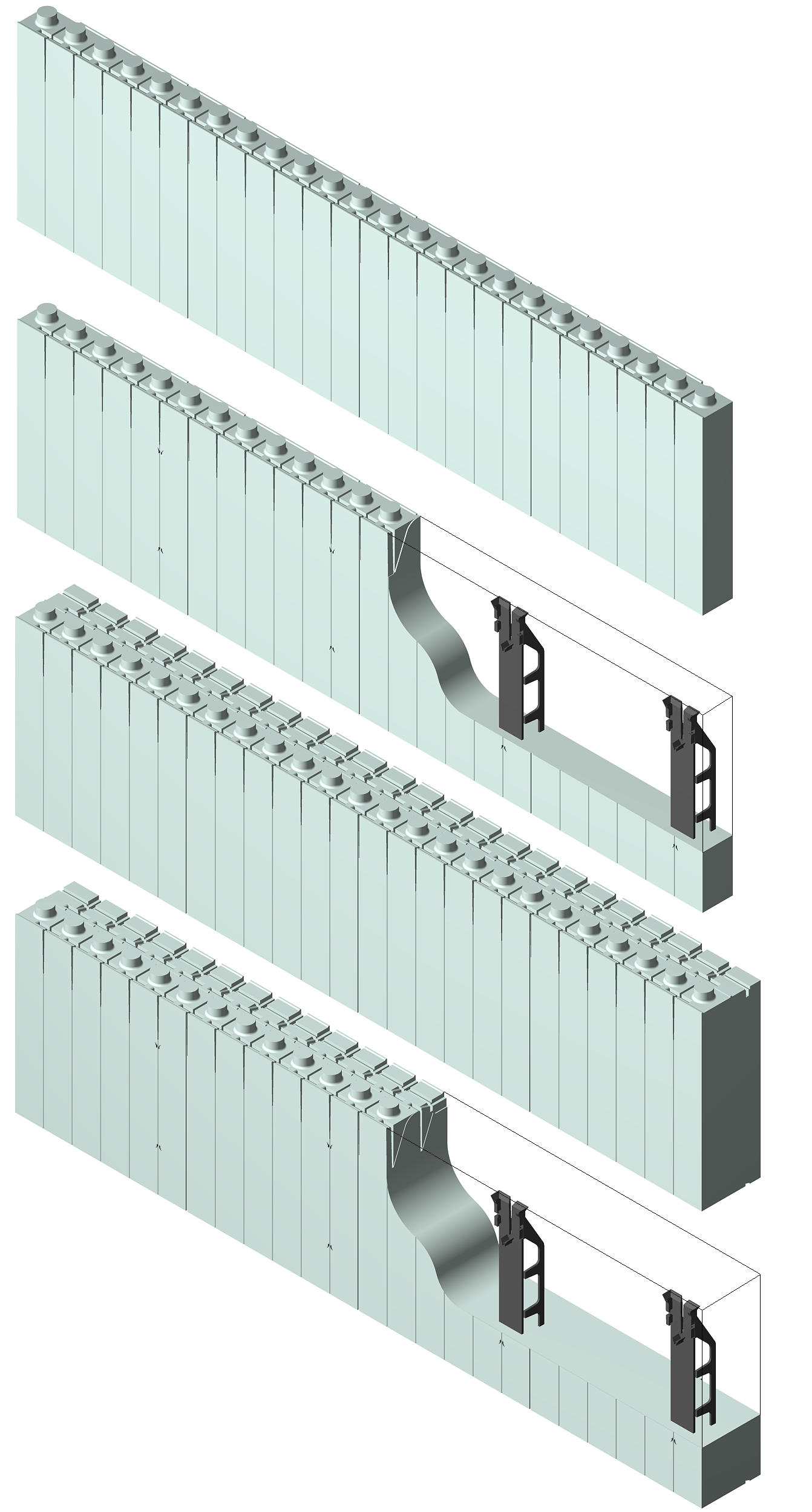 Quad lock insulated concrete forms poland quad lock panele for Insulated concrete form